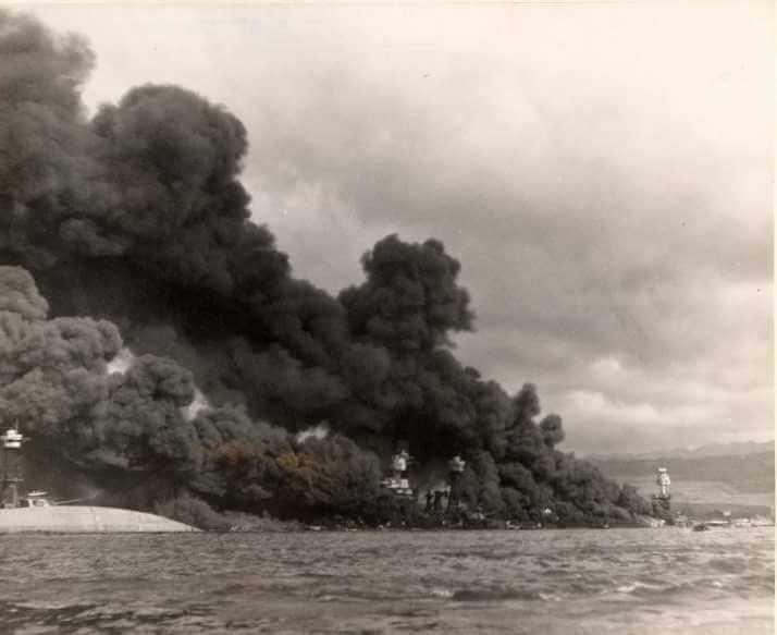 Pearl Harbor Saldırı Anı Fotoğrafları