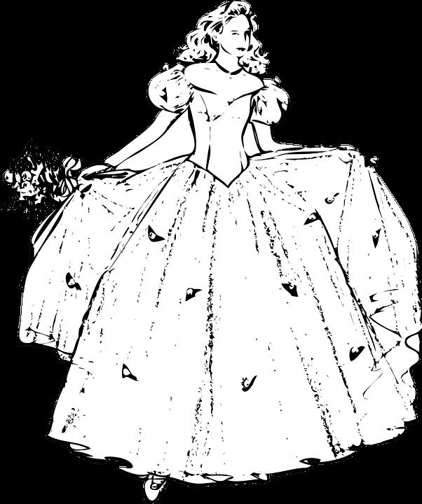 Prenses Boyama Sayfaları