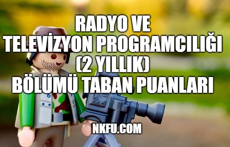 Radyo ve Televizyon Programcılığı