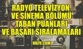 Radyo Televizyon ve Sinema Taban Puanları