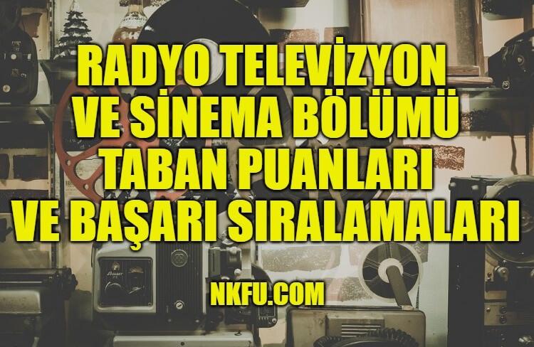 Radyo Televizyon ve Sinema