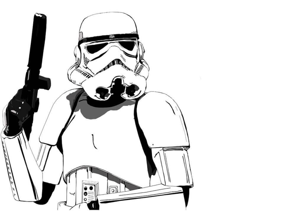 Star Wars (Yıldız Savaşları) Boyama Sayfaları