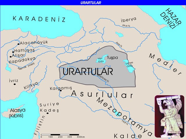 Urartu Haritası