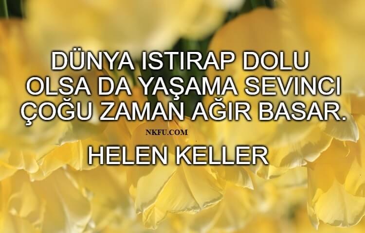 Helen Keller Resimli Sözleri