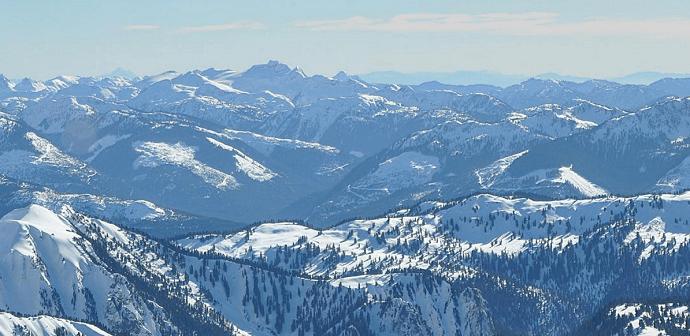 Kaskad (Cascade) Dağları