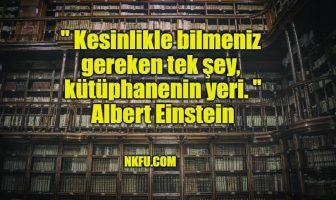 Kütüphaneler İle İlgili Güzel Sözler