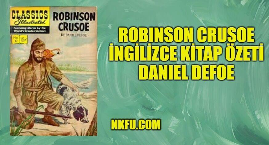 Robinson Crusoe İngilizce Özeti