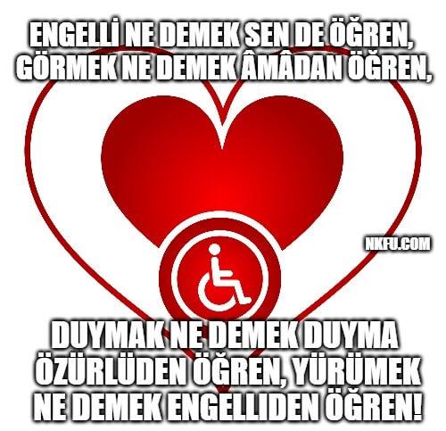 Dünya Engelliler Günü Haftası Mesajları