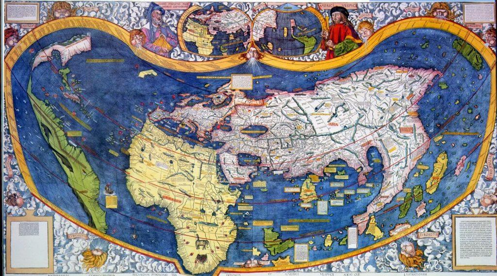 Martin Waldseemüller'in Haritası