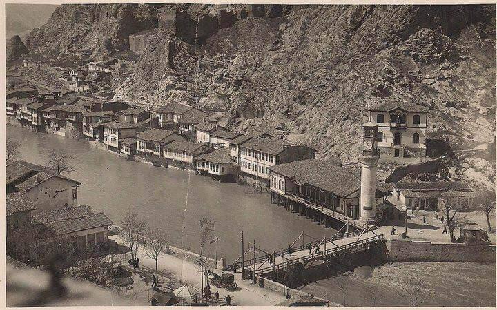 Amasya'nın Eski Bir Fotoğrafı