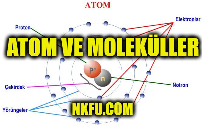 Atom ve Moleküller