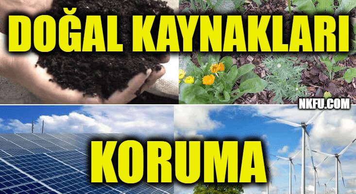 Doğal Kaynakları Koruma