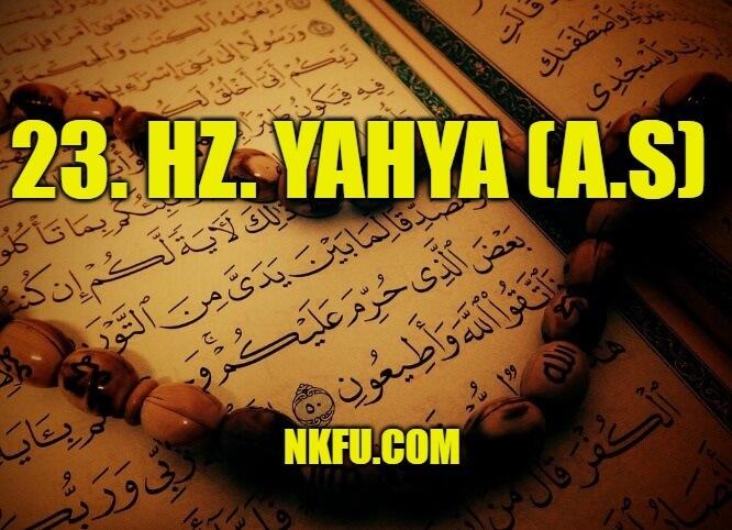 Hz. Yahya