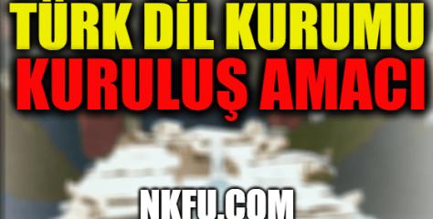 Türk Dil Kurumu'nun Kuruluş Amacı, Kim Tarafından Ne Zaman Neden Kuruldu?