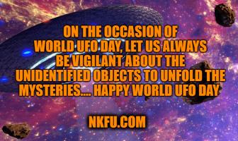 Dünya UFO Günü Mesajları / World UFO Day Messages