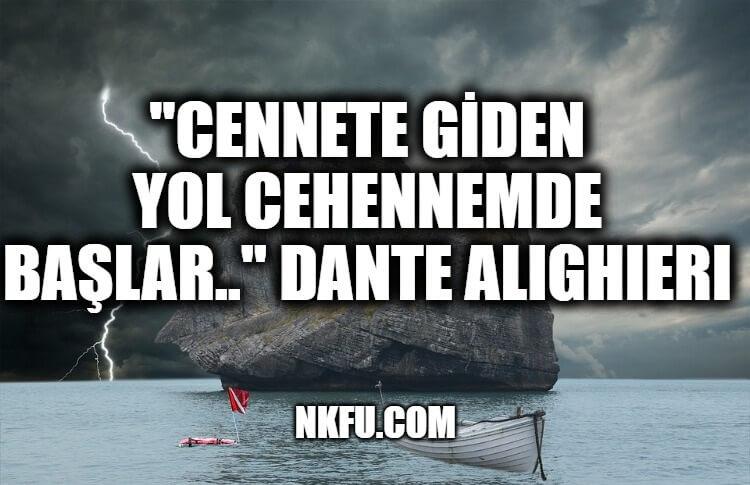 Dante Alighieri Sözleri