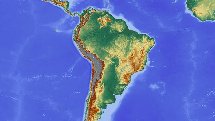 brezilya haritasi