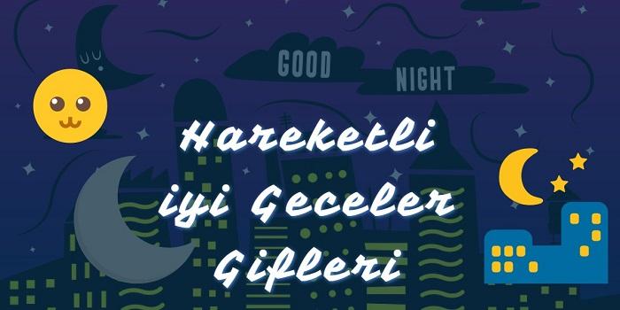 Hareketli İyi Geceler Gifleri