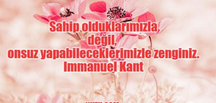 Immanuel Kant Sözleri – Alman Filozoftan Hayatı Anlatan En Güzel Sözler