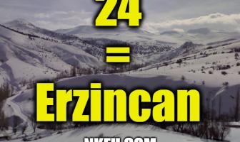 24 Plaka Erzincan