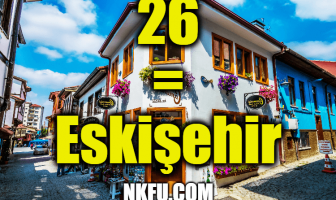 26 Plaka Eskişehir
