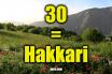 30 plaka hakkari