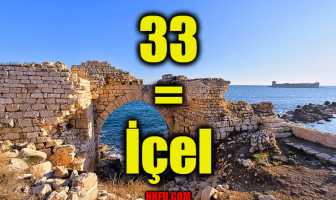 33 Plaka İçel (Mersin)