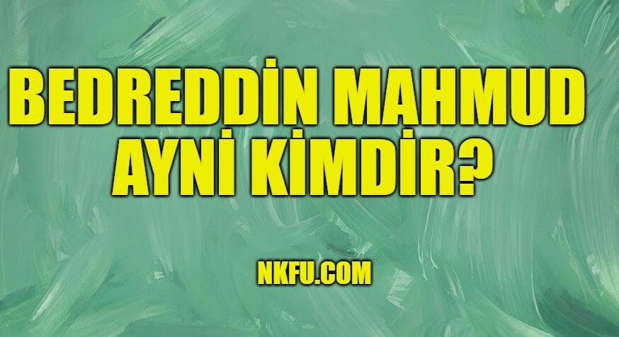 Bedreddin Mahmud Ayni