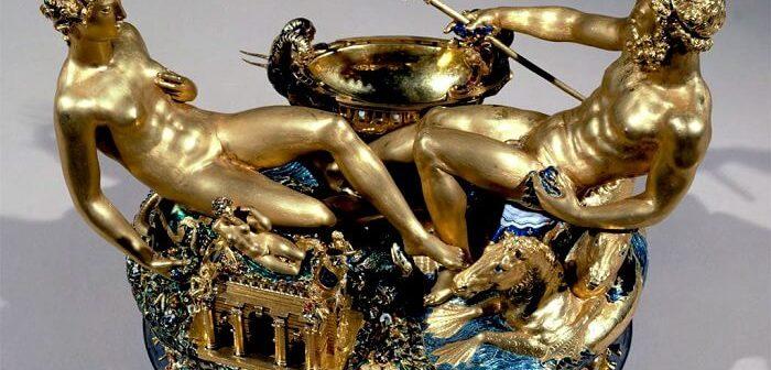 Benvenuto Cellini'nin altın tuzluğu