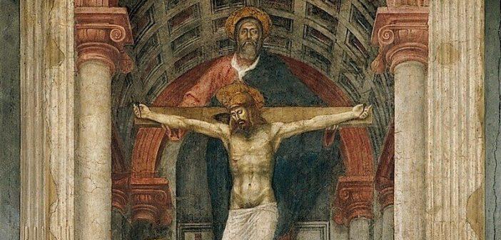 Santa Maria Novella'daki Kutsal Üçlü freskosu