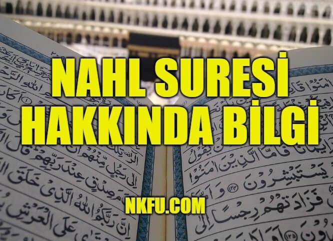 Nahl Suresi