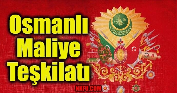 Osmanlı Maliye Teşkilatı