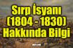 Sırp İsyanı (1804 - 1830) Hakkında Bilgi