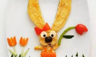 Tavşan omlet