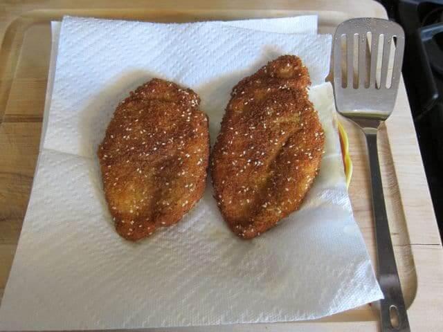 Tavuk Şinitzel
