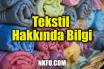 Tekstil Hakkında Bilgi