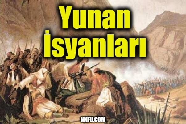 Yunan İsyanları