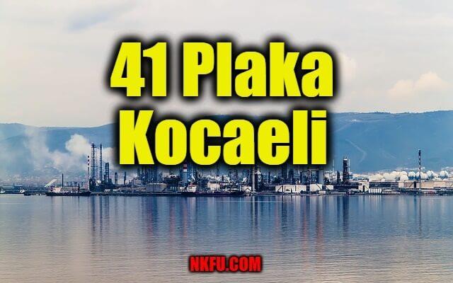 41 Plaka Kocaeli
