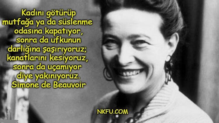 Simone de Beauvoir Sözleri