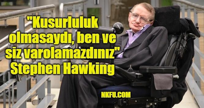 Stephen Hawking Resimli Sözleri