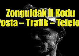 Zonguldak İl Kodu Tüm İlçeleri Posta Kodları Trafik Plakaları Telefon Alan Kodu