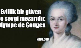 Olympe de Gouges Sözleri