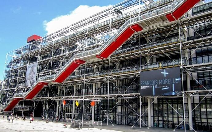 Pompidou Merkezi Nerededir? Pompidou Merkezi Özellikleri Nelerdir?