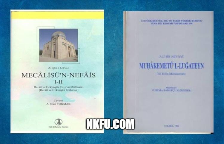 Ali Şir Nevai Eserleri