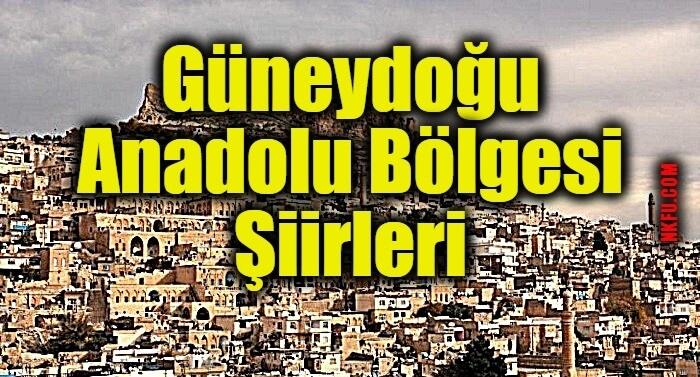 Güneydoğu Anadolu Bölgesi İle İlgili Şiirler
