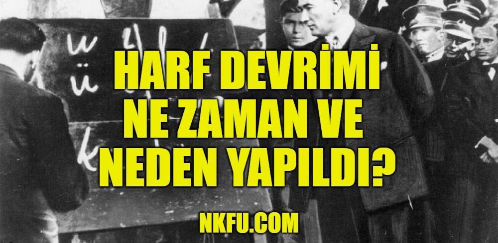 Türk Harf Devrimi