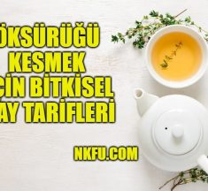 Öksürüğü Kesmek İçin Evde Yapabileceğiniz Bitkisel Çay Tarifleri
