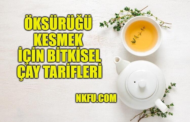 Öksürüğü Kesmek İçin Bitkisel Çay Tarifleri