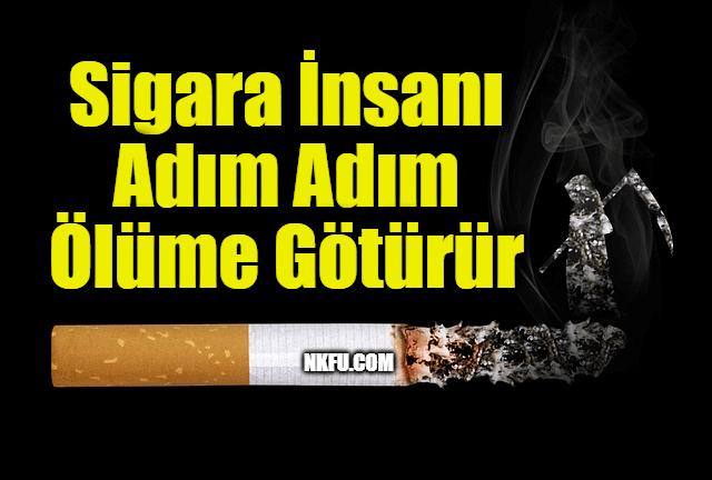 Sigara ile ilgili slogan ve afiş