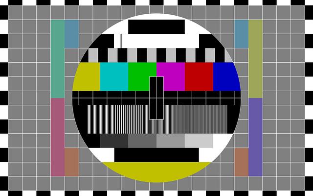 Televizyon Test Patern Yayın Görüntüsü